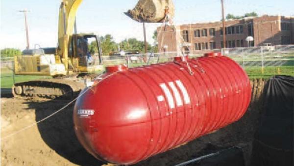 Xerxes Tank Installation, Colorado