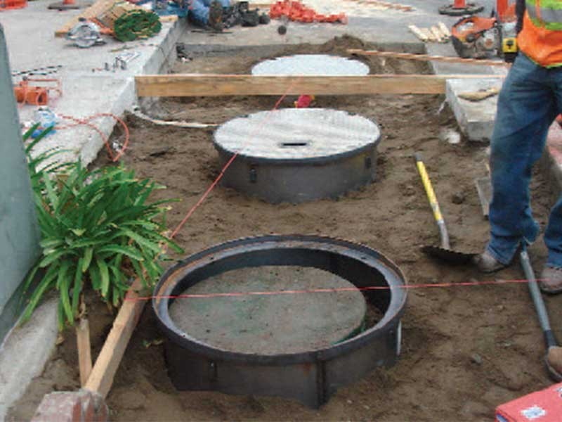 Wastewater Tank Repair - Malibu Country Mart