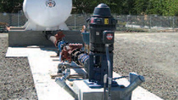 Piping and storage tank waste for wastewater system