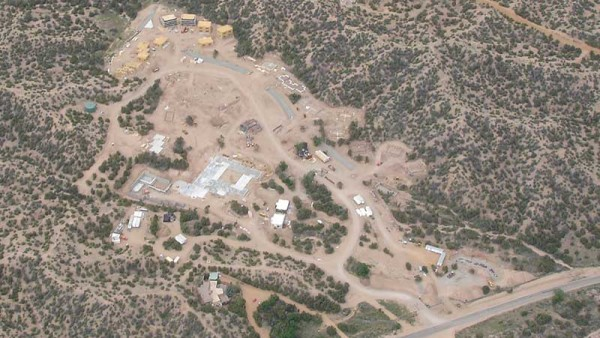 Aerial View of Rancho Encantado