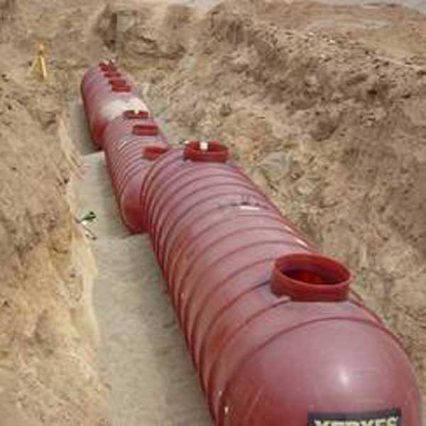 Onsite wastewater treatment system installed at Ramona School District