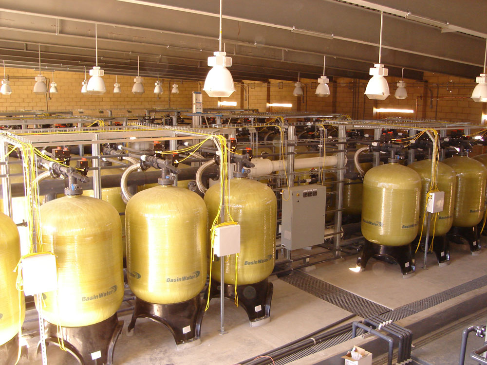 Arsenic Removal Ion Exchange System installed at Baldy Mesa Water District in California