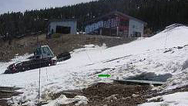 Onsite wastewater treatment system installed at Colorado snowboard area