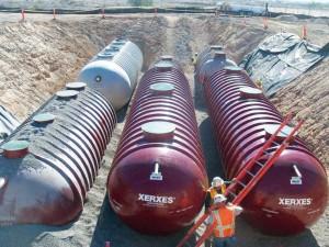 Xerxes Tanks with ENR Denite Units