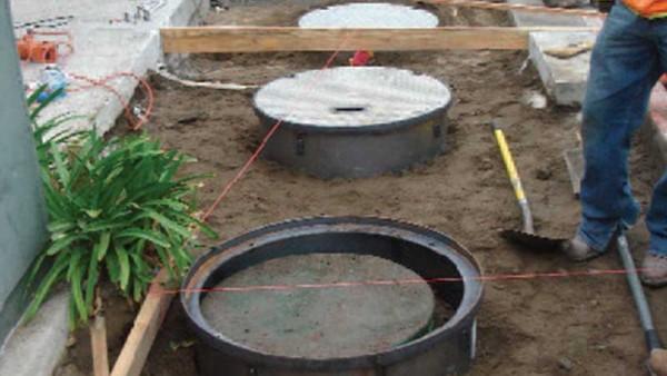 Wastewater Tank Repair - Malibu Country Mart