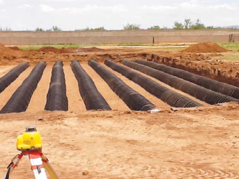 Infiltration Wastewater System