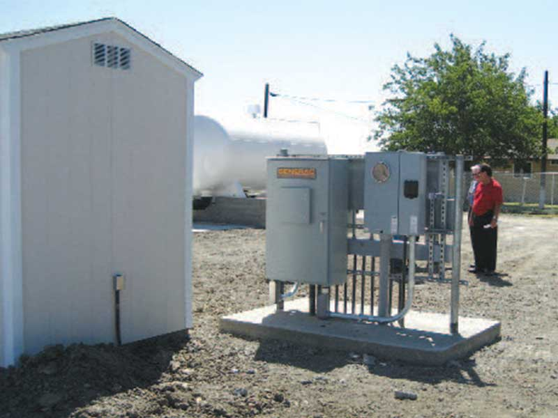 Wastewater control system