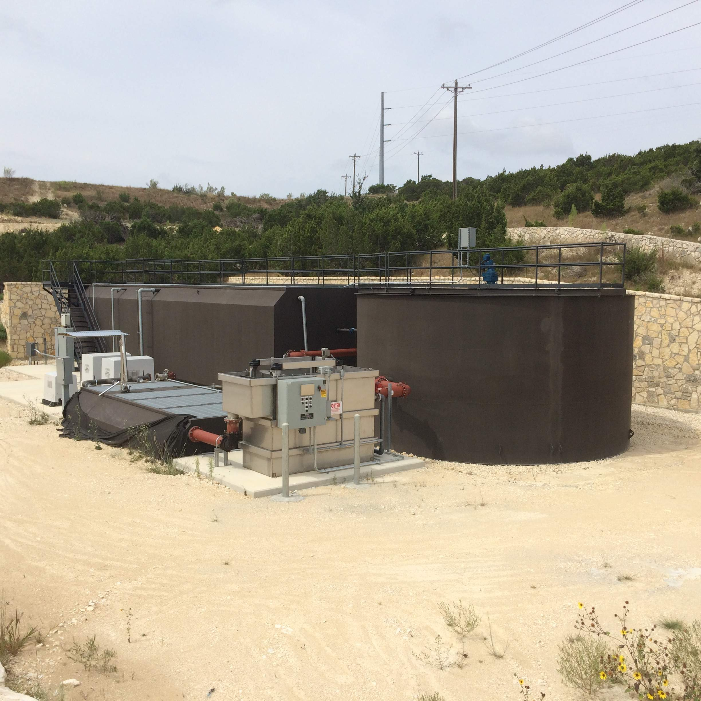IWS Completes Design-Build of Texas Wastewater Treatment Plant
