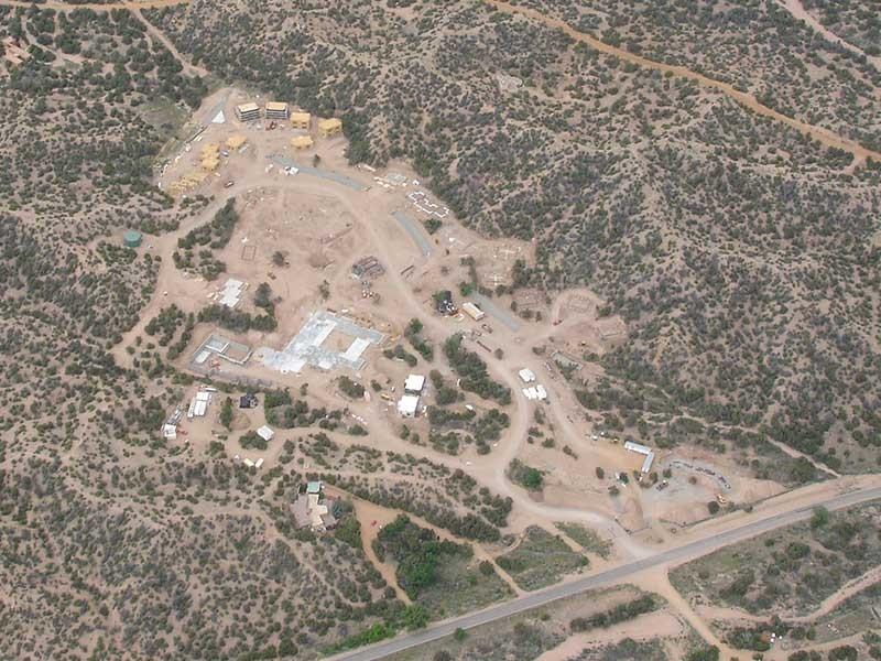 Aerial View of Rancho Encantado