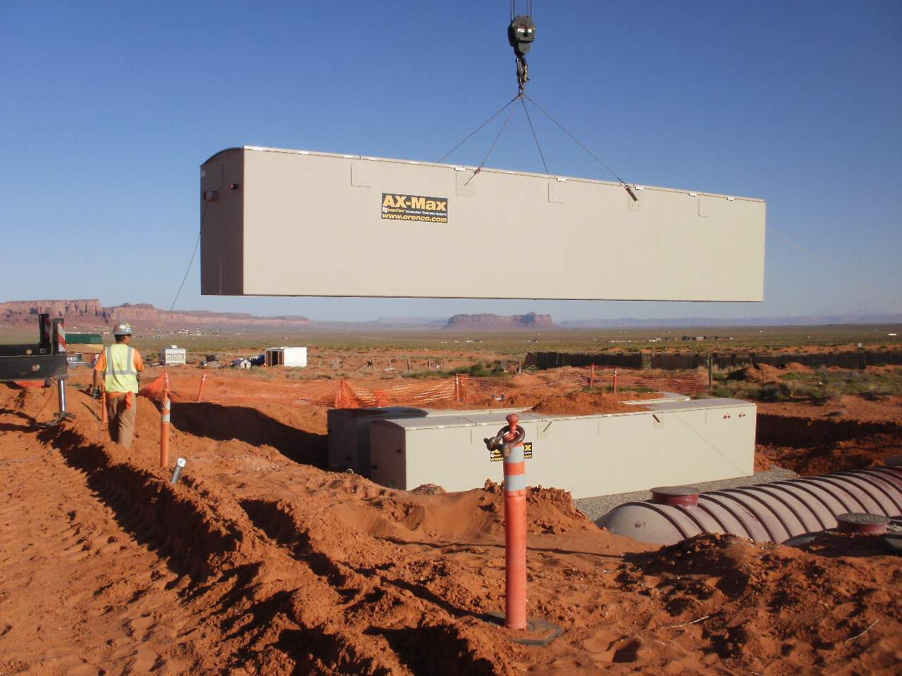 Navajo Nation Installs Wastewater Treatment System at the View Hotel
