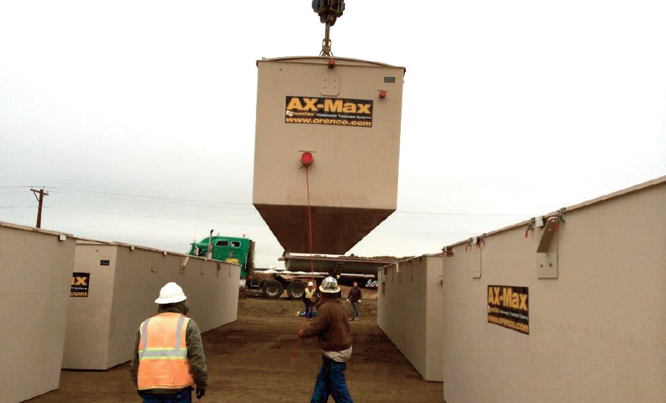 IWS Installs Largest Orenco AX-Max System in the United States