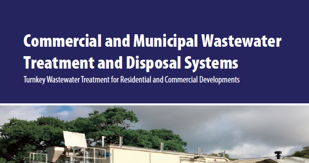 Commercial and Municipal Wastewater Treatment and Disposal Systems