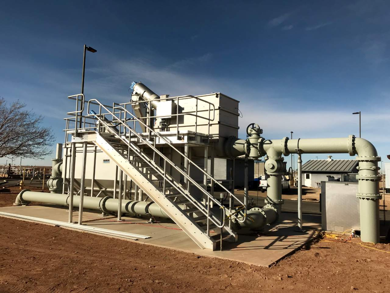Winslow Arizona Upgrades 2.2 MGD Wastewater Plant