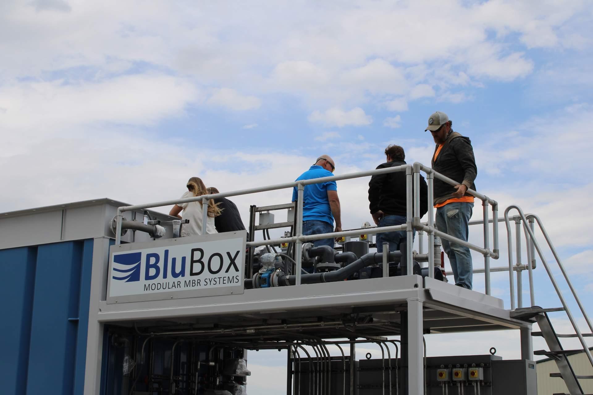 IWS Hosts BluBox MBR Open House